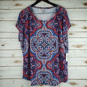 🆕️ 4/$15 NWT DRESSBARN top size 2x